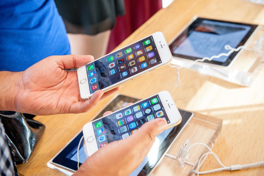 comparatif iphone6 et 6s